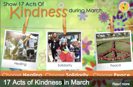 17 Acts of Kindness